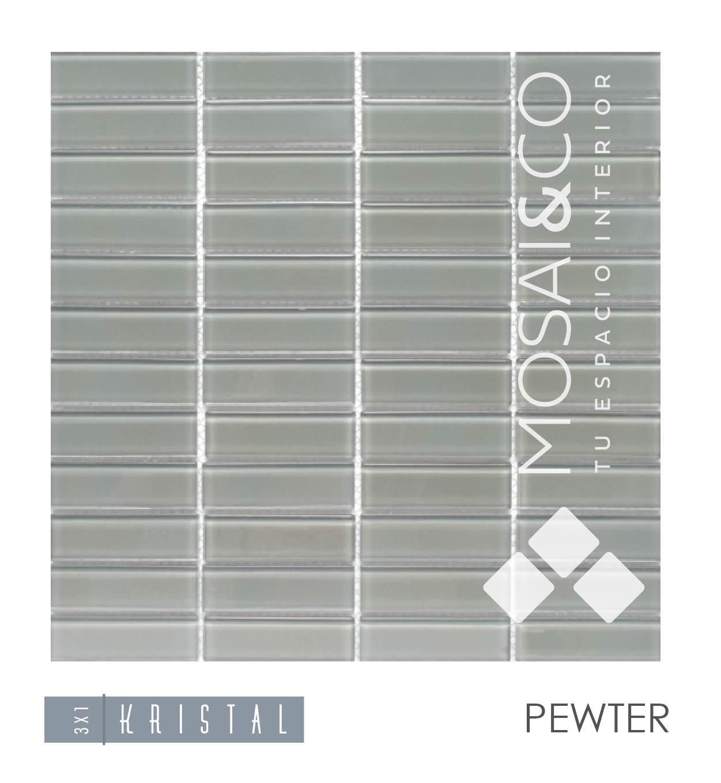 mosaico-linea-kristal-mosaiandco-3×1-pewter